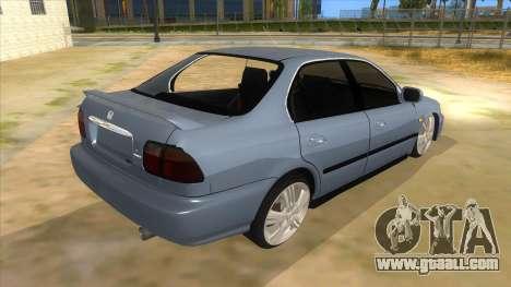 Honda Accord Sedan 1997 for GTA San Andreas right view