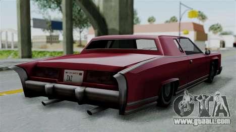 Remington Las Vivas for GTA San Andreas left view