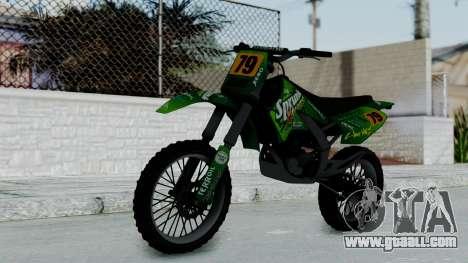 GTA 5 Sprunk Sanchez for GTA San Andreas