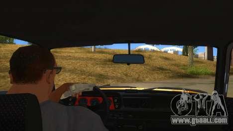 1974 BMW 2002 turbo v1.1 for GTA San Andreas inner view