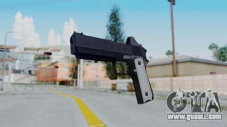 GTA 5 Heavy Pistol - Misterix 4 Weapons for GTA San Andreas second screenshot