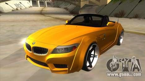 BMW Z4 Liberty Walk Performance for GTA San Andreas