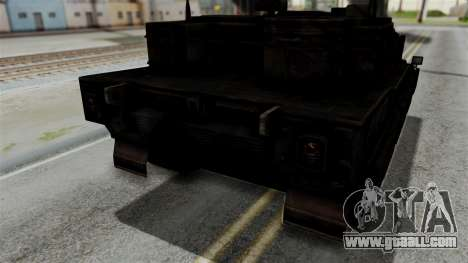 Point Blank Black Panther Rusty IVF for GTA San Andreas inner view