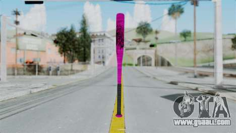 GTA 5 Baseball Bat 4 for GTA San Andreas