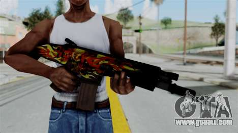 SCAR-L Extra PJ for GTA San Andreas third screenshot