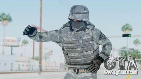 Acu Soldier Balaclava v1 for GTA San Andreas