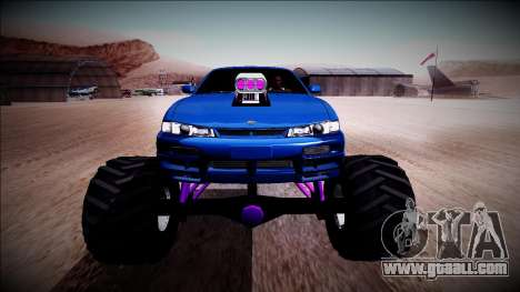 Nissan Silvia S14 Monster Truck for GTA San Andreas