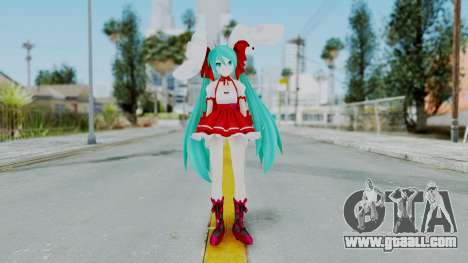 Hatsune Miku (Rabbit Girl) for GTA San Andreas second screenshot