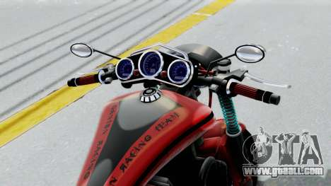 Turbike 3.0 for GTA San Andreas back view
