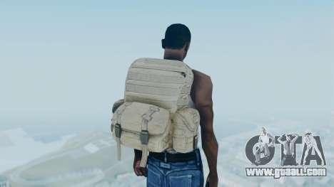 Arma 2 Backpack for GTA San Andreas third screenshot