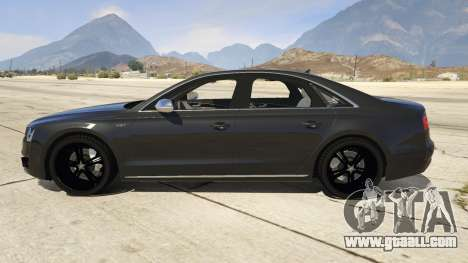 GTA 5 2013 Audi S8 4.0TFSI Quattro left side view