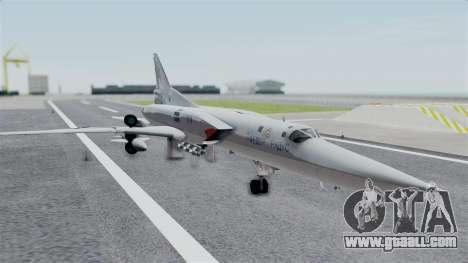 TU-22M3 Grey for GTA San Andreas