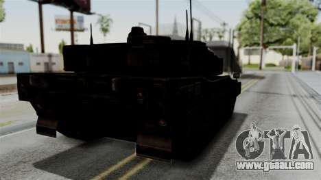 Point Blank Black Panther Rusty IVF for GTA San Andreas back left view
