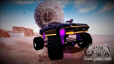 GTA 5 Imponte Ruiner Monster Truck for GTA San Andreas bottom view