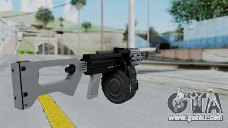 GTA 5 MG - Misterix 4 Weapons for GTA San Andreas second screenshot