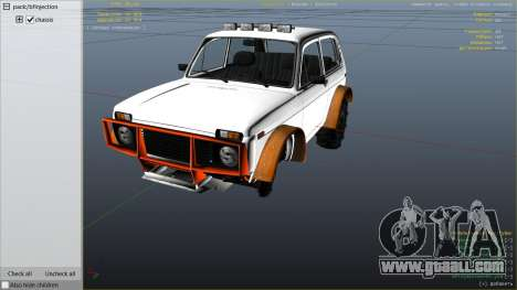 GTA 5 SUV VAZ-2121 right side view