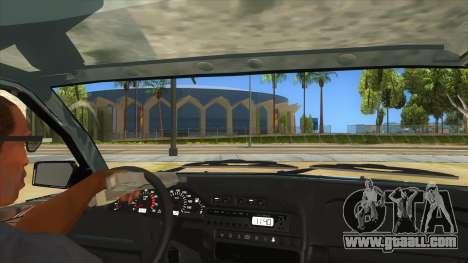 VAZ 2113 shifter for GTA San Andreas inner view