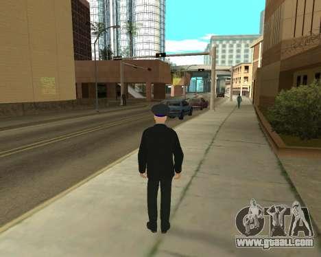 The Skin Is Sergei Glukharev for GTA San Andreas second screenshot