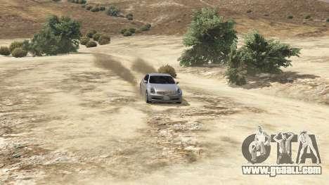 GTA 5 Infiniti G35 back view