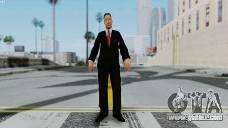 Bully Insanity Edition - Principal Will Smith for GTA San Andreas second screenshot