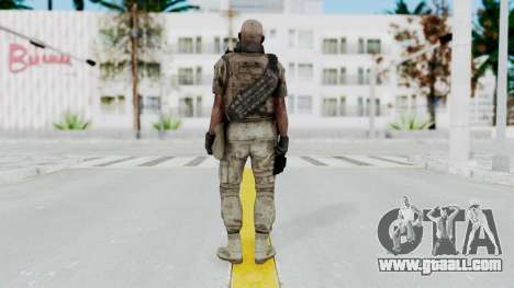 Crysis 2 US Soldier FaceB2 Bodygroup B for GTA San Andreas third screenshot