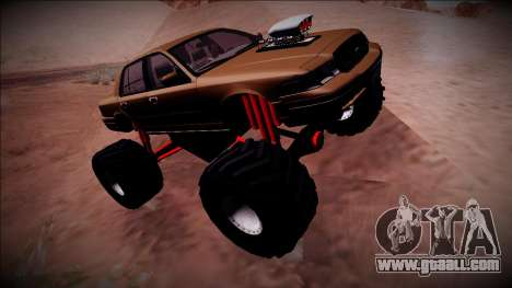 2003 Ford Crown Victoria Monster Truck for GTA San Andreas inner view