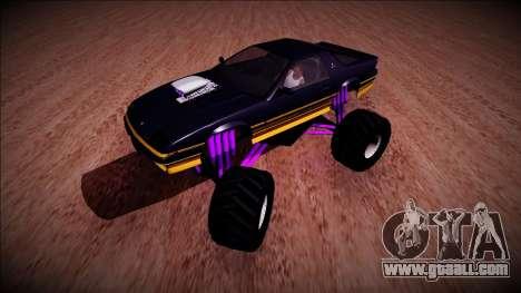 GTA 5 Imponte Ruiner Monster Truck for GTA San Andreas left view
