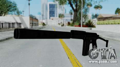 9A-91 Suppressor for GTA San Andreas