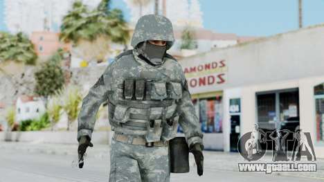 Acu Soldier 2 for GTA San Andreas