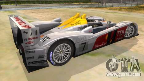 Audi R10 for GTA San Andreas right view