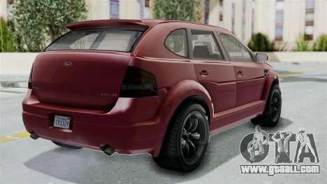 GTA 5 Vapid Radius IVF for GTA San Andreas left view