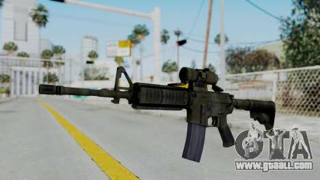 Arma2 M4A1 CCO Camo for GTA San Andreas
