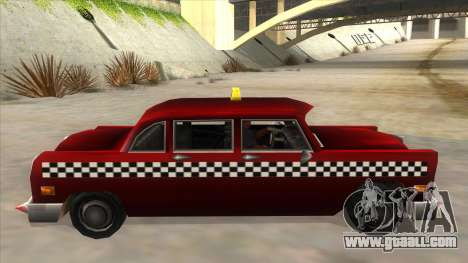 GTA3 Borgnine Cab for GTA San Andreas left view