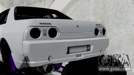 Nissan Skyline R32 Monster Truck for GTA San Andreas back left view