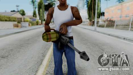 GTA 3 Flame Thrower for GTA San Andreas third screenshot