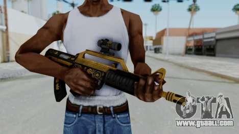 GTA 5 Online Lowriders DLC Bullpup Rifle for GTA San Andreas third screenshot