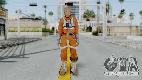 SWTFU - Luke Skywalker Pilot Outfit for GTA San Andreas second screenshot