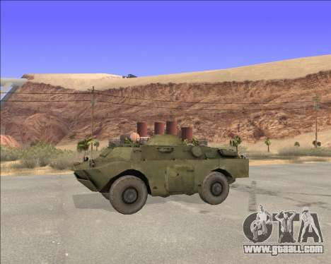 BRDM-2ЛД for GTA San Andreas left view