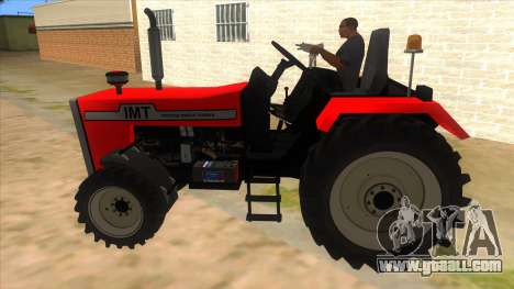 IMT Traktor for GTA San Andreas left view