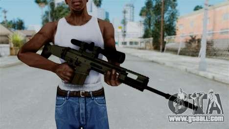 SCAR-20 v1 No Supressor for GTA San Andreas third screenshot