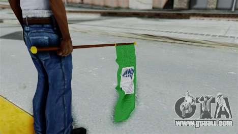 Attack On Titan Survey Crops Flag for GTA San Andreas third screenshot