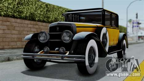 GTA 5 Albany Roosevelt Valor IVF for GTA San Andreas