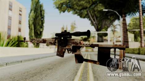 Dragunov Elite for GTA San Andreas second screenshot