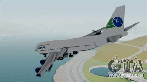 GTA 5 Jumbo Jet v1.0 Caipira Air for GTA San Andreas right view