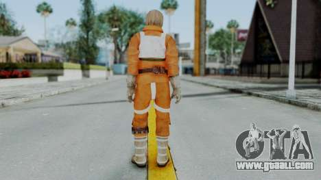 SWTFU - Luke Skywalker Pilot Outfit for GTA San Andreas third screenshot