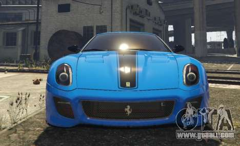 GTA 5 Ferrari 599 GTO[Replace] back view