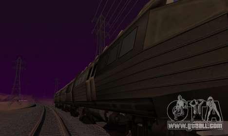 Batman Begins Monorail Train Vagon v1 for GTA San Andreas engine