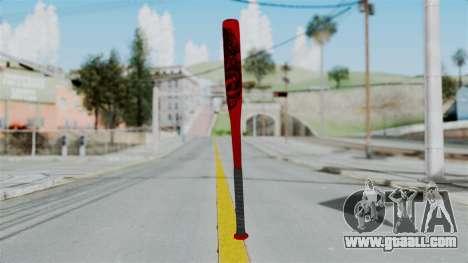 GTA 5 Baseball Bat 2 for GTA San Andreas third screenshot