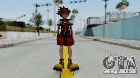 Kingdom Hearts 2 - Sora Early Costume Fix for GTA San Andreas second screenshot