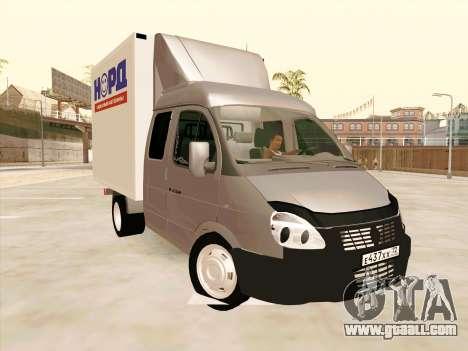 GAZ 33023 NORD for GTA San Andreas